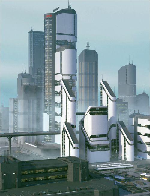 Greeble City Blocks 04