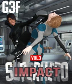 SuperHero Impact for G3F Volume 3