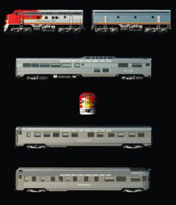 SANTA FE SUPERCHIEF BUNDLE-EXTENDED LICENSE