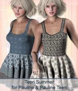 Teen Summer for Pauline and Pauline Teen