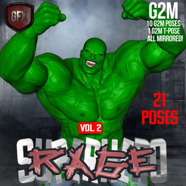 SuperHero Rage for G2M Volume 2