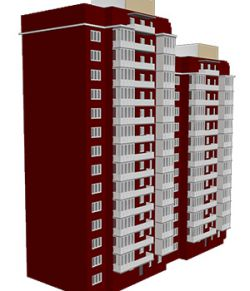 M30 High Rise Apartment- Extended License