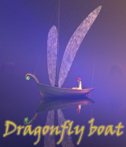 Dragonfly boat
