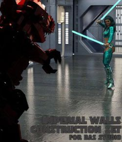 Imperial Walls Construction Kit- for DAZ Studio