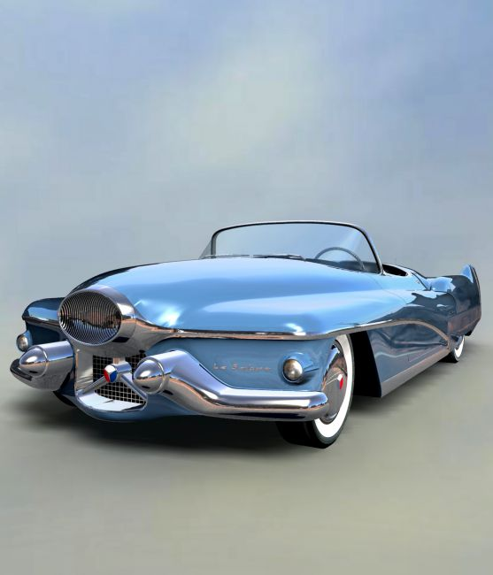 BUICK LE SABRE 1951 EXTENDED LICENSE