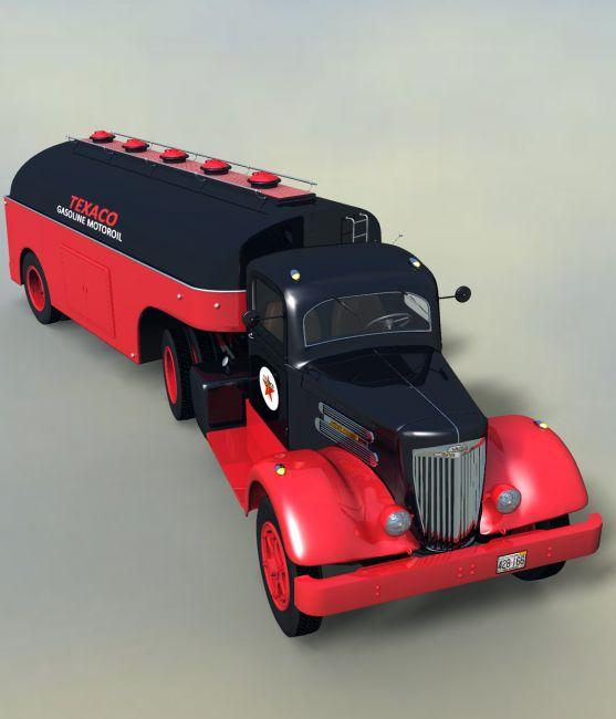 WHITE 718 TANK TRUCK 1939-EXTENDED LICENSE