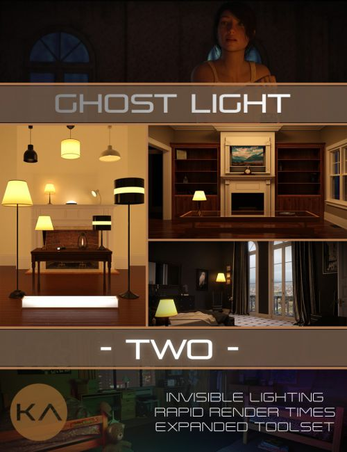 Iray Ghost Light Kit 2