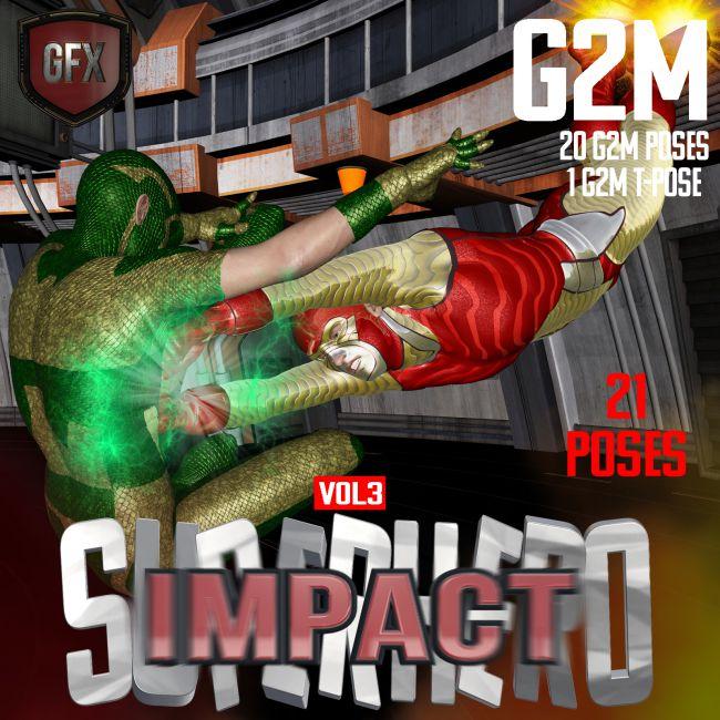 SuperHero Impact for G2M Volume 3