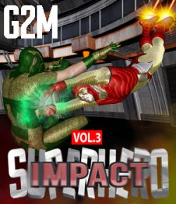 SuperHero Impact for G2M Volume 3