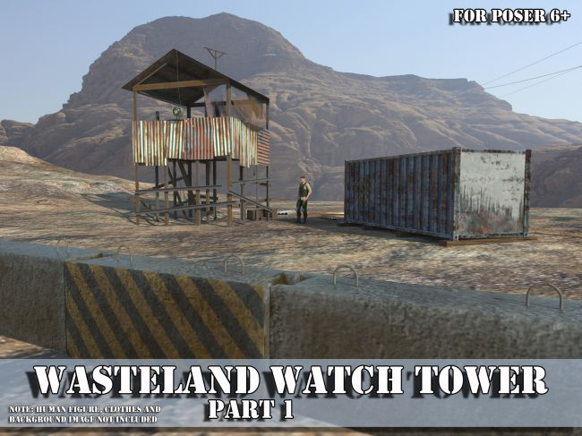 AJ Wasteland Watch Tower 1