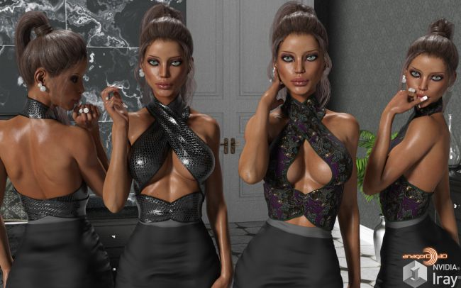 VERSUS - Summer Wraps for Genesis 3 Females