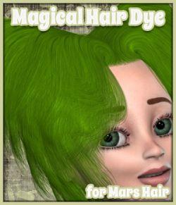 Magical Hair Dye for Mars Hair