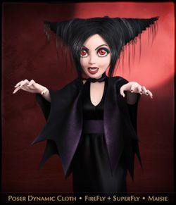 FRQ Dynamics: Vampire Outfit for Maisie