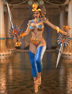 Warrior Goddess for Genesis 3 Female(s)