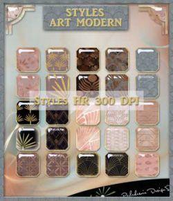 Styles art Modern