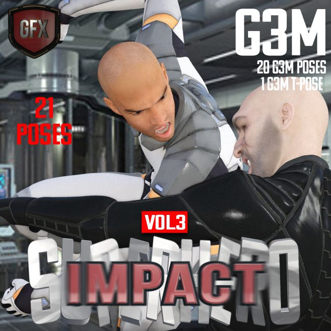 SuperHero Impact for G3M Volume 3