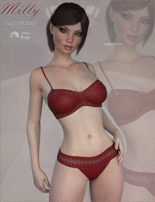 TDT-Milly for Genesis 3 Female
