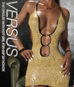 VERSUS- The Circles With Hot Girl For Genesis 3 Females