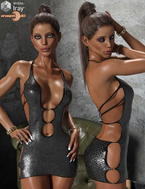 VERSUS - The Circles With Hot Girl For Genesis 3 Females