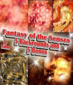 Fantasy of the Senses Backrounds by kalhh