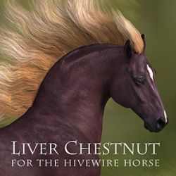 CWRW Liver Chestnut for the HiveWire Horse