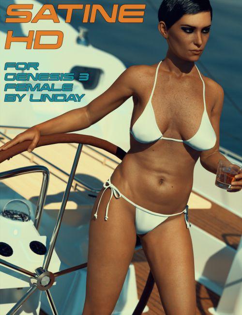Satine HD for Genesis 3 Female
