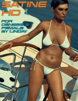 Satine HD for Genesis 3 Female