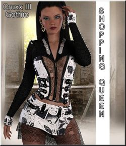 Shopping Queen: CruxIII-Gothic