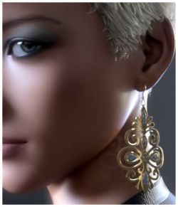 GCD Jewelry - Earrings Collection 1 for G3F