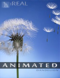 iREAL Animated Dandelion