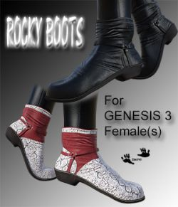 Rocky Boots for G3F