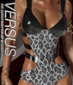 VERSUS- Cutout Body for Genesis 3 Females