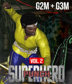 SuperHero Punch for G2M & G3M Volume 2