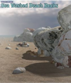 Photo Props: Sea Washed Beach Rocks