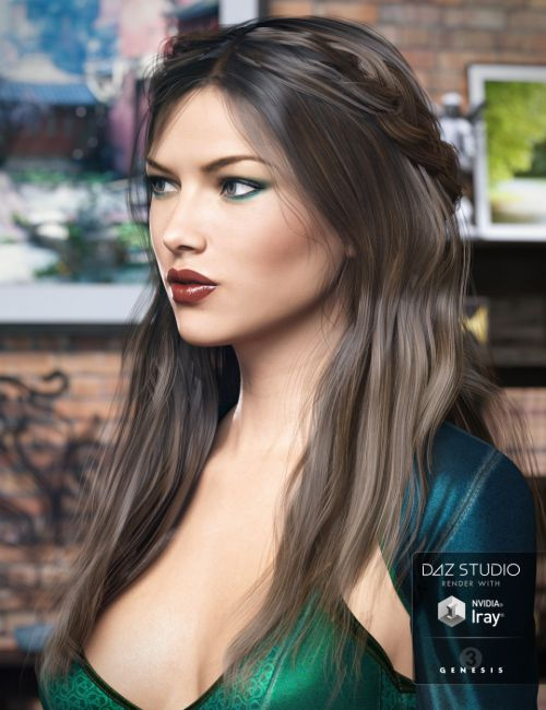 Colony Hair for Genesis 3 Female(s)