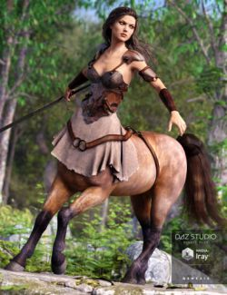 Warrior Queen Outfit for Centaur 7 Female