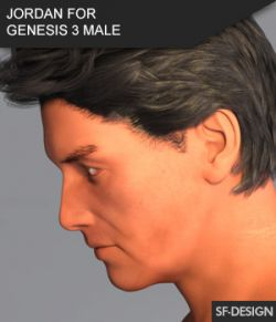 Jordan- Male Character for Genesis 3 Male