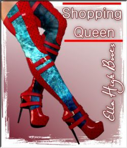 Shopping Queen: Ella High Boots