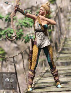 Dragon's Veil for Genesis 3 Female(s)