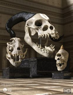 Monster Skulls HD