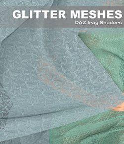 DAZ Iray - Glitter Meshes