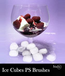 Ice Cubes PS Brushes