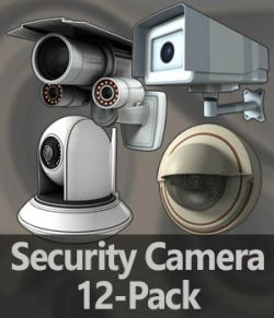Security Cameras 12-Pack- Extended License