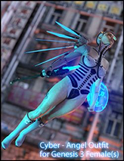 CyberAngel - The Outfit for Genesis 3 Female(s)