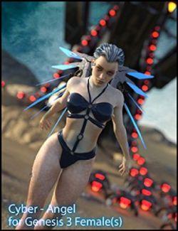 CyberAngel - The Character for Genesis 3 Female