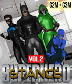 SuperHero Stance for G2M & G3M Volume 2