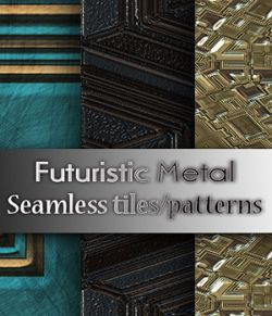 Futuristic Metal 2 Patterns