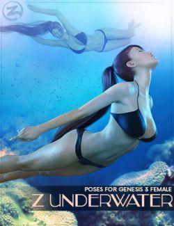 Z Underwater - Swimming Poses for Genesis 3 Female