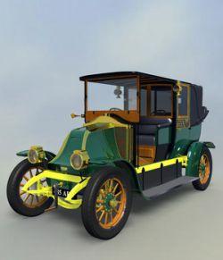 RENAULT FIACRE LANDAULET 1910-EXTENDED LICENSE