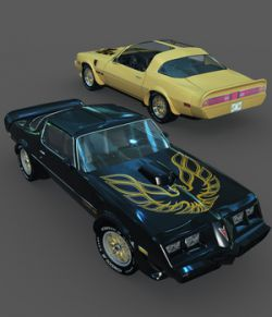 PONTIAC FIREBIRD TRANS AM 1979-EXTENDED LICENSE
